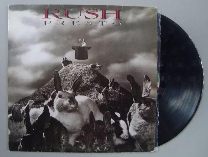 Disco de vinil - Rush - Presto