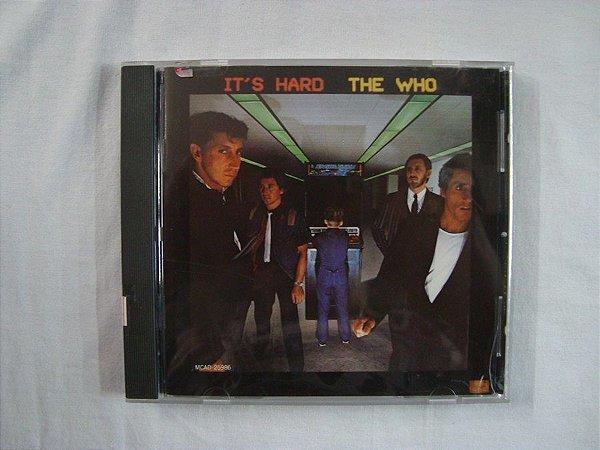 CD The Who - It's Hard - Importado