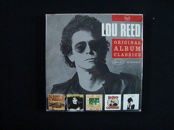 Box 5 CD's Lou Reed - Original Album Classics