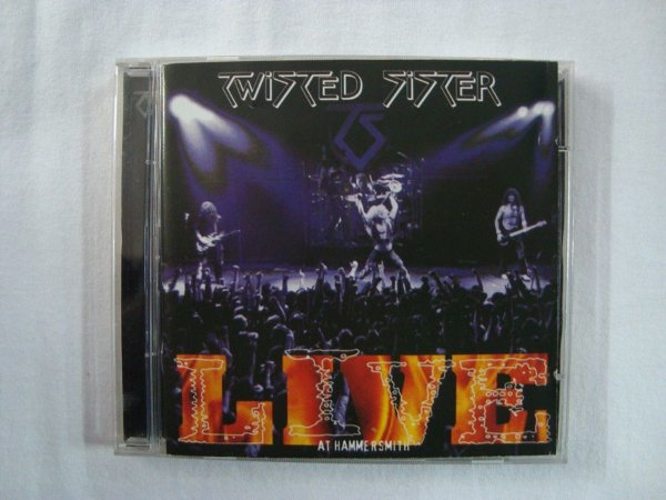 CD Twisted Sister - Live at Hammersmith - duplo