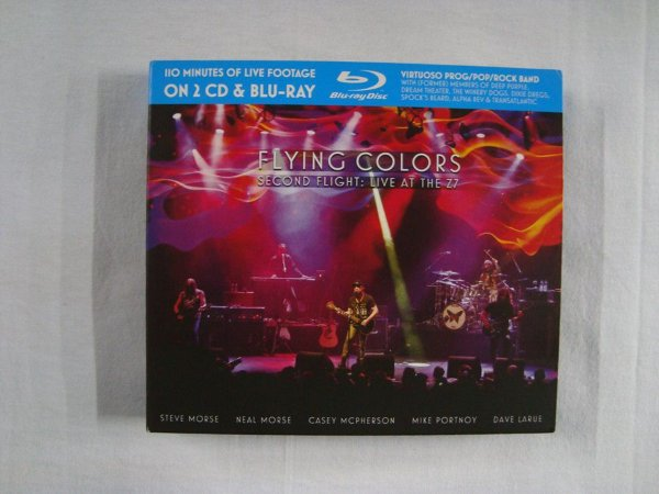 Blu-ray + 2 CD Flying Colors - Second Flight Live at Z7 - Importado