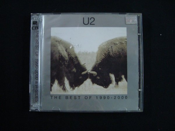 CD U2 - The Best of 1990 - 2000 - Duplo