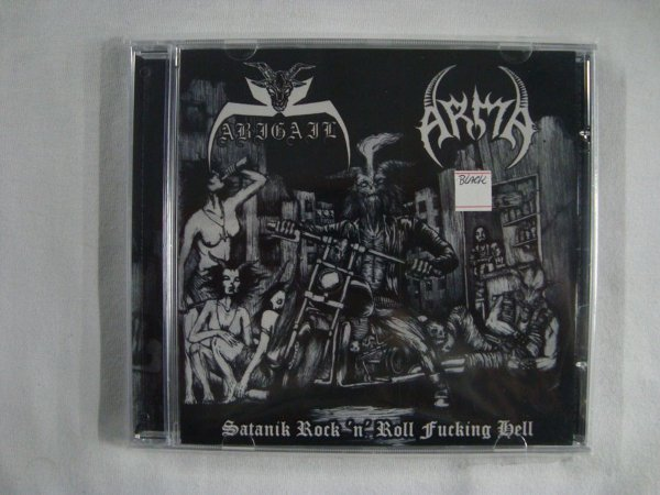 CD Satanik Rock'n'Roll Fucking Hell - Abigail + Arma
