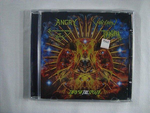 CD Angry / Warpath /Suffocation of Soul / Thrashera - Thrash Till Death/ 4 Split