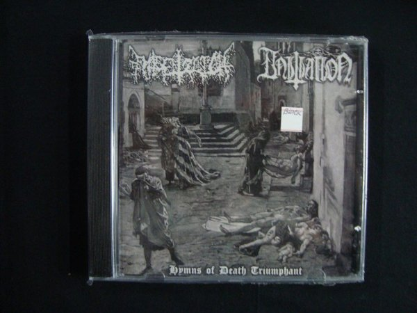 CD Entsetzlich, Initiation ‎– Hymns Of Death Triumphant