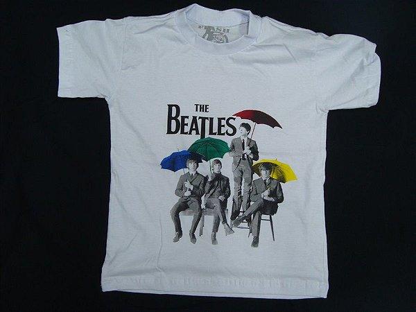 Camiseta Infantil The Beatles tamanhos 12