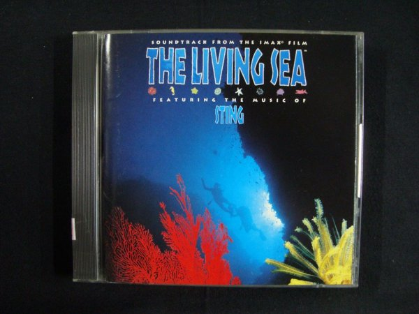 CD Sting - The Living Sea - Soundtrack from the Film - Importado