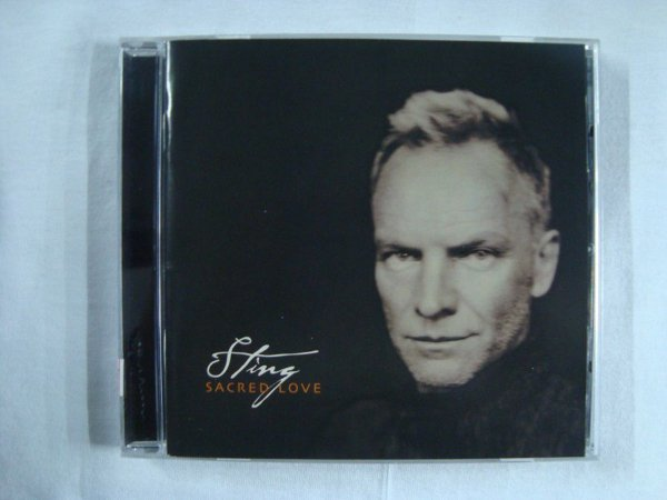 CD Sting - Sacred Love - Importado
