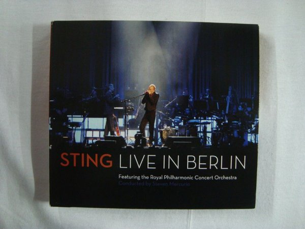 CD Sting - Live in Berlin - Featuring the Foyal Philharmonic Concert Orchestra - Duplo Importado