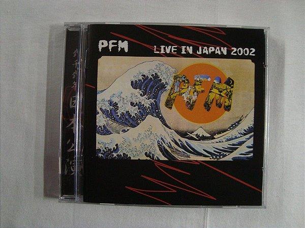 CD Premiata Forneria Marconi - Live in Japan 2002 - Duplo