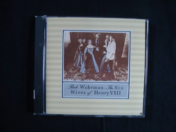 CD Rick Wakeman - The Six Wives of Henry VIII - Importado
