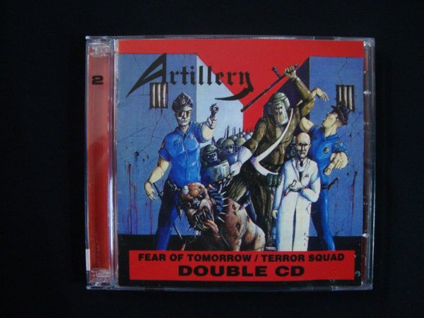 CD Artillery - Fear of Tomorrow + Terror Squad - Double CD