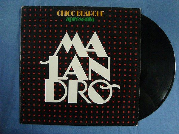 Disco de Vinil - Chico Buarque apresenta: Malandro