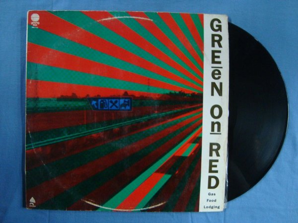 Disco de Vinil Green on Red - Gas Food Lodging