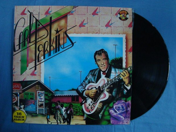 Disco de Vinil Carl Perkins - Rocking Guitarman - 16 track album