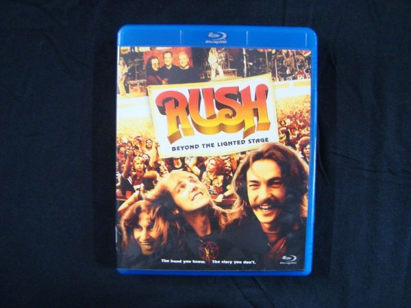 Blu-ray Rush - Beyond the Lighted Stage