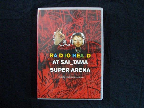 DVD Radiohead - Saitama Super Arena