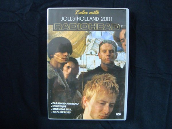 DVD Radiohead - Jolls Holland 2001