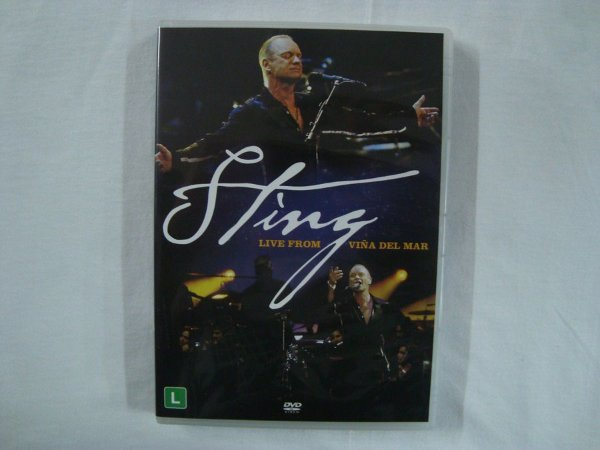 DVD Sting - Live from Viña del mar