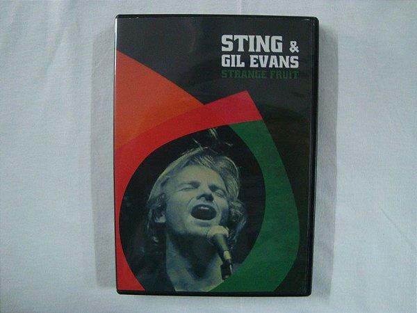 DVD Sting & Gil Evans - Strange Fruit