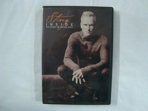 DVD Sting - Inside - The Songs of Sacred Love