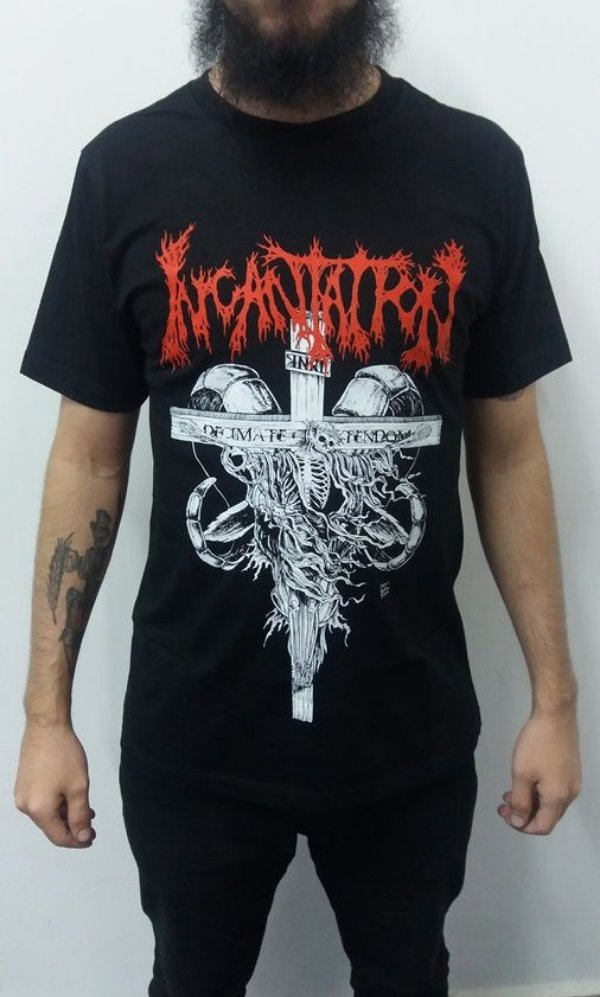Camiseta Incantation - Decimate Christendom