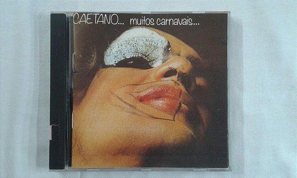 CD Caetano Veloso - Muitos Carnavais