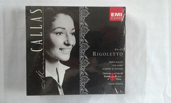 CD Maria Callas - Verdi Rigoletto - Emi Classics duplo Importado