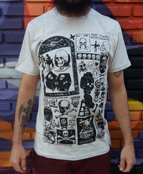 Camiseta Chemical Don't Play with Death