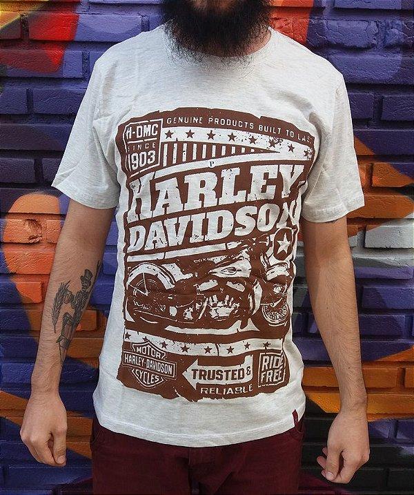 Camiseta Harley Davidson - Trusted Motorcycles