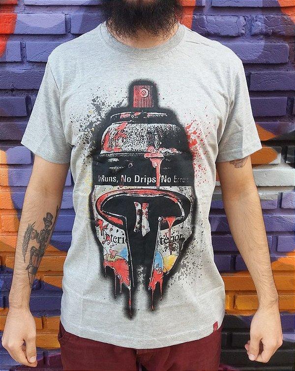 Camiseta Spray Grafite - Arte Urbana