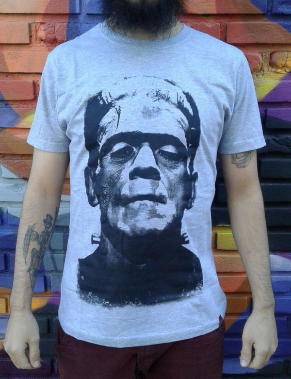Camiseta Monstro de Frankenstein