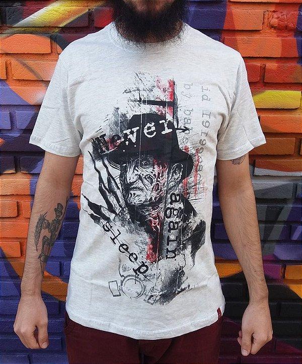 Camiseta Freddy Krueger - Never Sleep Again