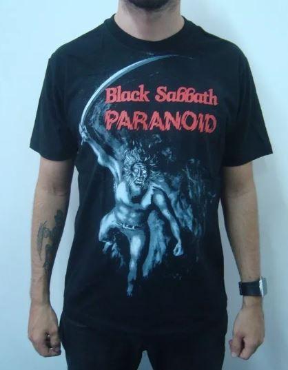 Camiseta Black Sabbath - Paranoid