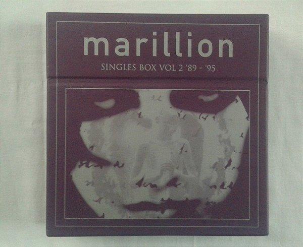 Marillion - Singles Box Volume 2 - 1989 - 1995 - 12 CD's importados