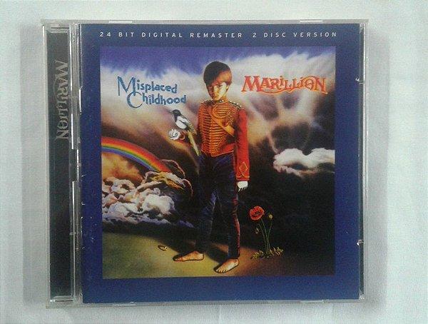 CD Marillion - Misplaced Childhood - Duplo Importado