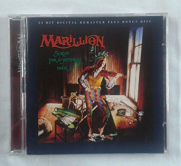 CD Marillion - Script for a Jesters Tear - Importado Duplo