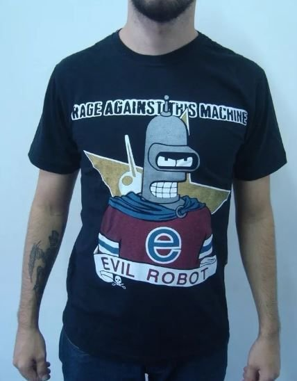 Camiseta Rage Against the Machine - Evil Robot