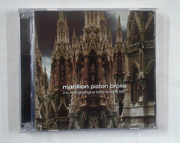 CD Marillion - Piston Broke - This strange Engine Live in Europe 1997 - Duplo importado