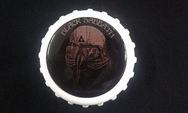 Abridor de Garrafa / Imã - Black Sabbath - Never say Die