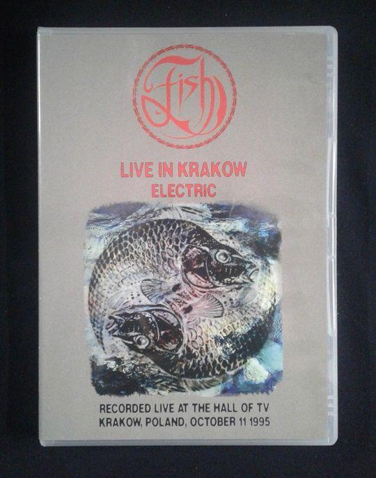 DVD Fish - Live in Krakow - Electric - 1995 - Importado