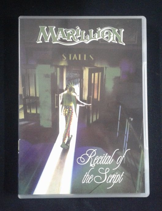 DVD Marillion - Recital of the Script