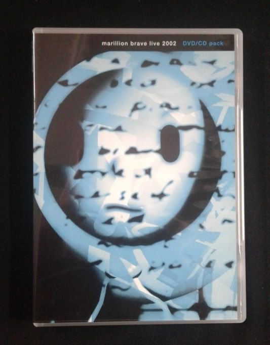 CD + DVD Marillion - Brave Live 2002 - Importado