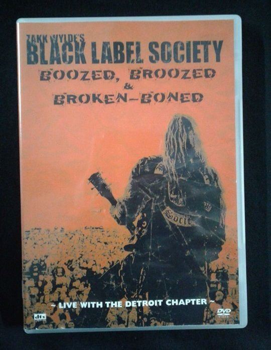 DVD Black Label Society - Live with the Detroid Chapter