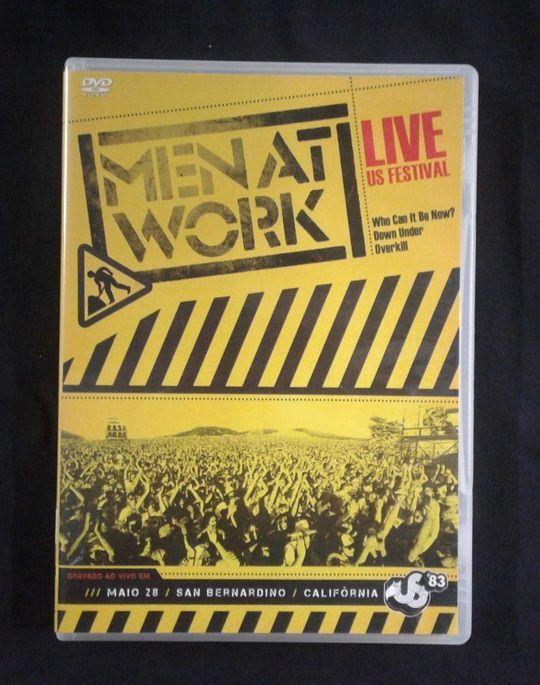 DVD Men at Work - Live US Festival 83'
