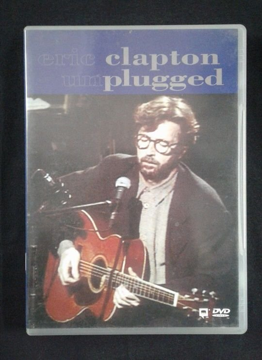 DVD Eric Clapton - Unplugged