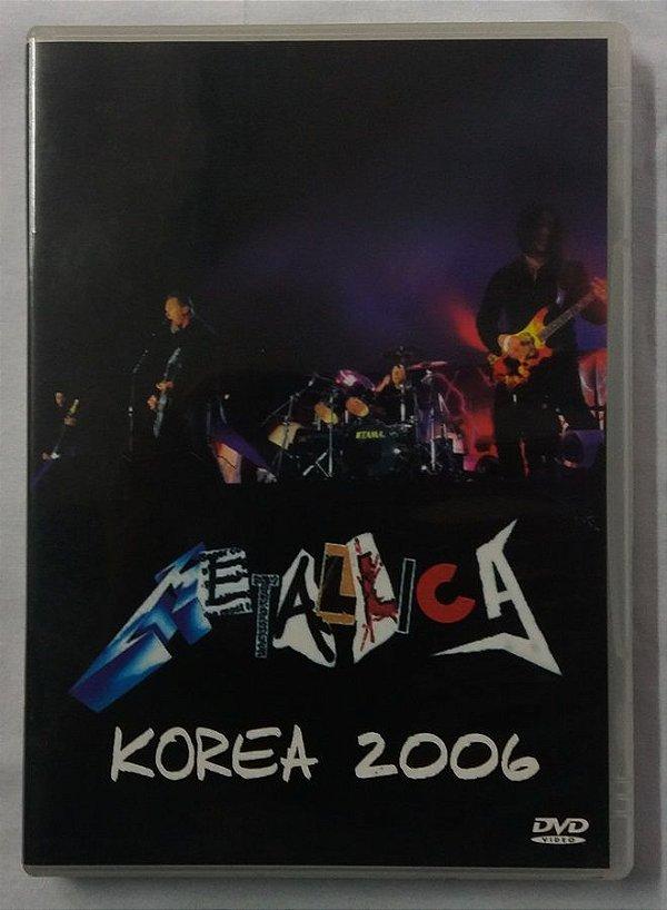 DVD Metallica - Korea 2006