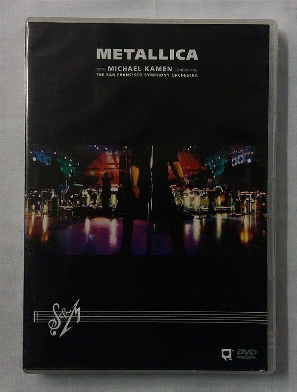 DVD Metallica - The San Francisco Orchestra - Duplo