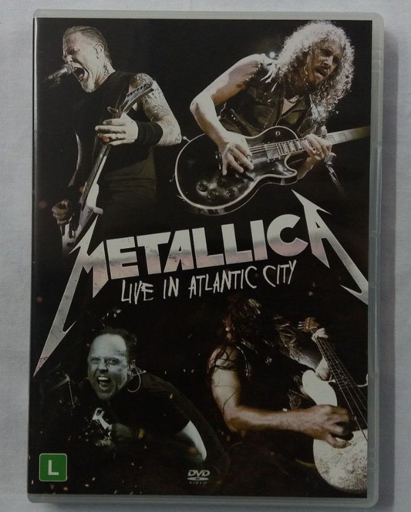 DVD Metallica - Live in Atlantic City