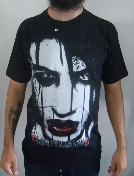 Camiseta Marilyn Manson MM